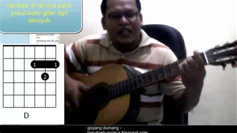 Tutorial Gitar Goyang Dumang   belajar gitar otodidak goyang dumang cita citata akustik
