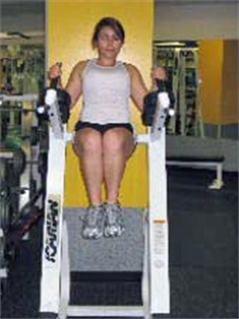 hanging reverse crunches knee raises  captains chair