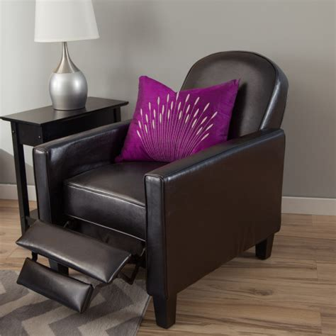 narrow recliner chairs bedroom recliners for small spaces decoriest home