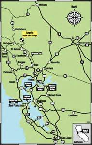 Map From San Francisco To Napa Valley by Pacific Union College Getting To Puc