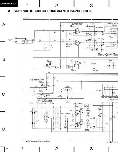 pioneer gm 1000 wiring diagram free wiring