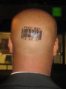 barcode tattoo youtube barcode tattoos by scott blake