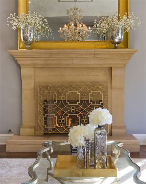 Gold Fireplace by Bedroom Arranging Furniture Diy Ideas Photos