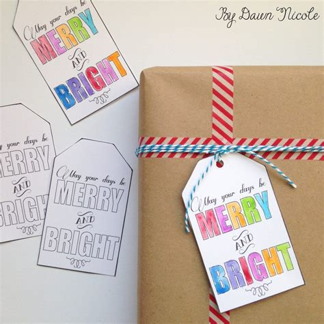 printable gift tags on pinterest watercolor printable diy gift tags dawn nicole designs 174