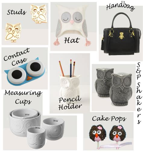 10 Owl Accessories by Owl Home Decor Accessories