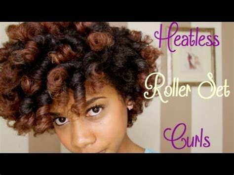 black hairstyles without heat 4 ways to create heatless curls black women natural