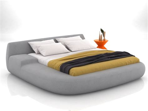 big bed big bed 01 3d model poliform