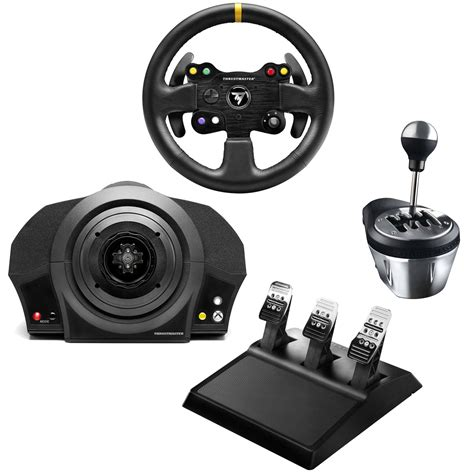 volante xbox 360 pc thrustmaster tx racing kit gt edition volant pc