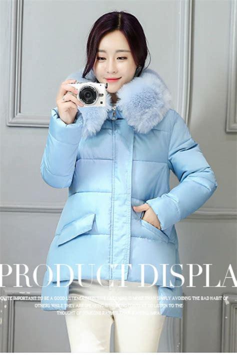 Baju Bulu jaket bulu import blue fur coat jyw86616 blue