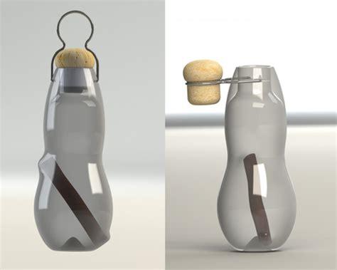 design milk water bottle deconstruction eau good water bottle by black blum