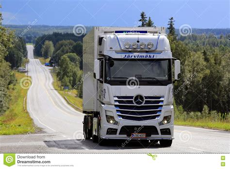mercedes truck white white mercedes actros 2545 tank truck on the road