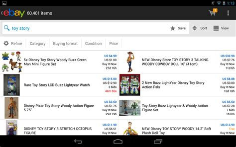 ebay android apps  google play