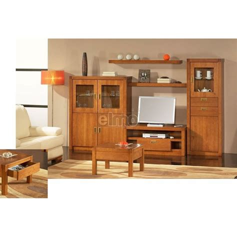 Meuble Living Tv by Composition Living Meuble T 233 L 233 Vision En Merisier Massif De