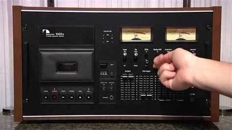 nakamichi 1000 cassette deck nakamichi 1000 tri tracer mk ii oldplayer