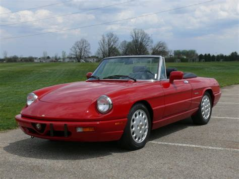how it works cars 1994 alfa romeo spider 1994 alfa romeo spider commemorative edition 2950 miles concours as new for sale alfa romeo