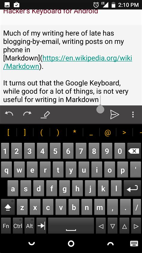 keyboards for android hacker s keyboard for android