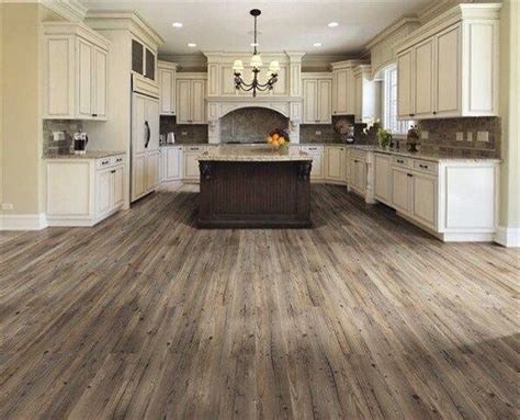 Farmhouse Floors | barn wood floors kitchen farmhouse style house