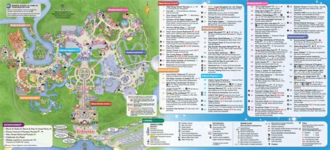 printable animal kingdom map 2015 january 2016 walt disney world park maps throughout animal