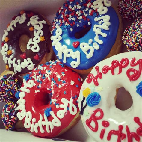 Happy Birthday Doughnuts by Happy Birthday Donuts Yelp