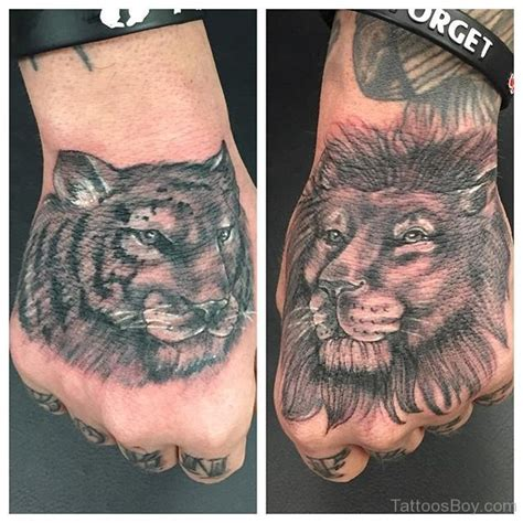 lion hand tattoo parts tattoos designs pictures