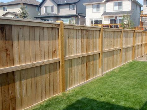 building a backyard fence how to build a wood fence quickly in 3 steps