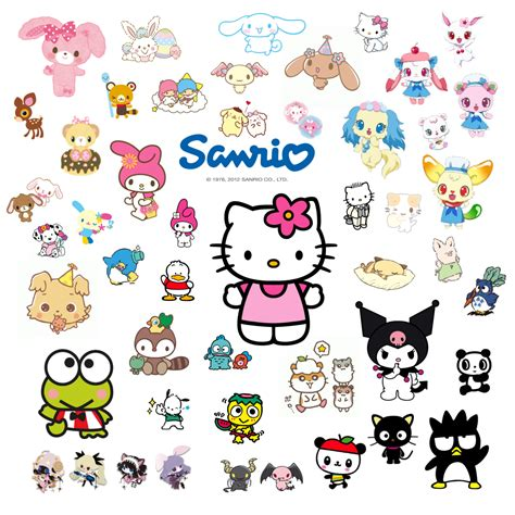 doodle name kaye the kawaii world of sanrio get to the characters