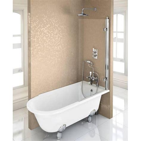 burlington hampton  freestanding shower bath