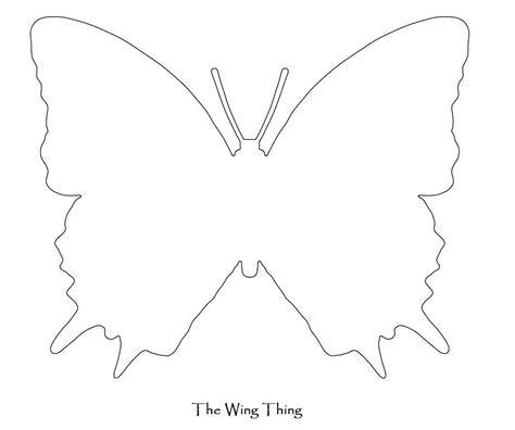 butterfly wing template best photos of butterfly wings template butterfly wings