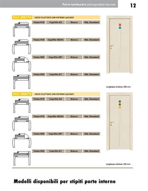 stipiti per porte porte interne laccate pantografate infix