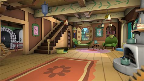 little house in the big d living room layout changes inside house cartoon background www imgkid com the
