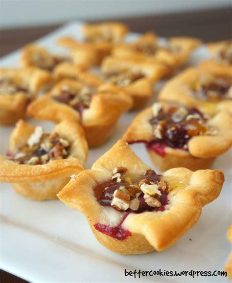 appetizers crescent roll cranberry brie crescent mini cups appetizer socializer