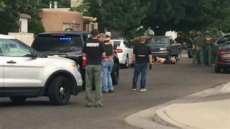 Bernalillo County Sheriff Warrant Search Bcso Swat Team On Near Indian School Moon Kob 4