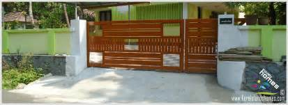 Modern Homes Gate Design Keralareal Estate Kerala Free New Home Design Trends In Kerala