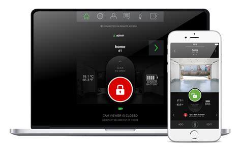 Garage Door Smartphone by Smartphone Kit For Garage Door Opener