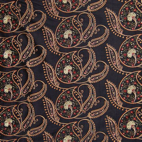 black floral upholstery fabric black black floral faux silk drapery and upholstery fabric