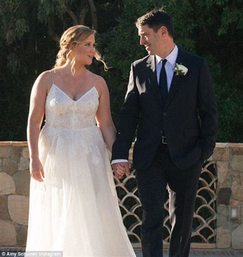 Theyve Already The Knot by Schumer Weds Chef Beau Chris Fischer In La Daily