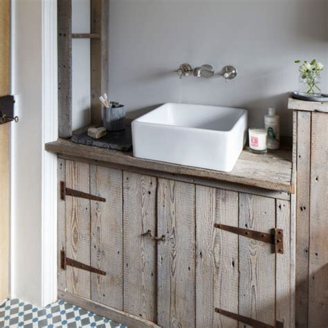 reclaimed wood bathroom reclaimed wood bath vanity farm sink kohler bathroom