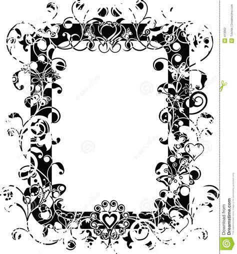 floral grunge frame vector stock vector illustration of illustration 1792578 grunge frame vector stock photography image 413062