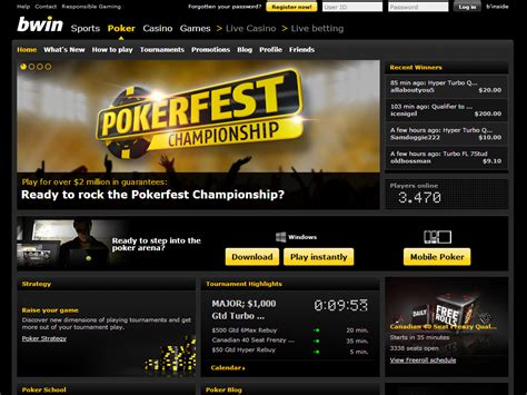 bwin poker review  rakeback  bonus