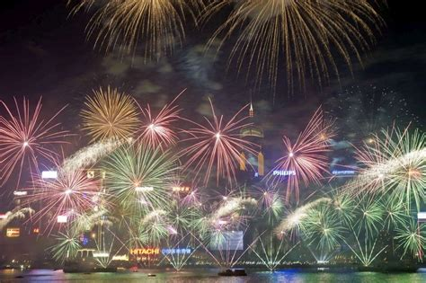 new year 2018 melbourne crown en images le monde a f 234 t 233 2014 en lumi 232 res