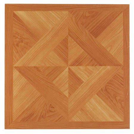 nexus classic light oak diamond parquet   adhesive vinyl floor tile  tiles sqft