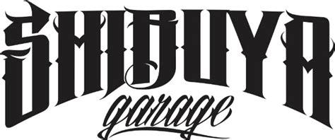 Garage Font by Shibuya Garage Fonts Forum Dafont