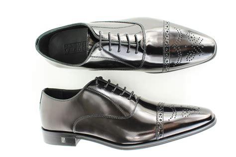 versace mens sneakers versace collection s black spazzolato brogue dress