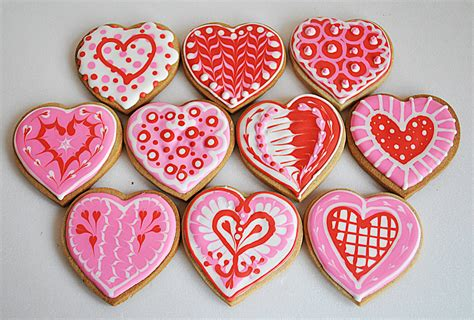 valentines day cookies s day cookies cakecentral