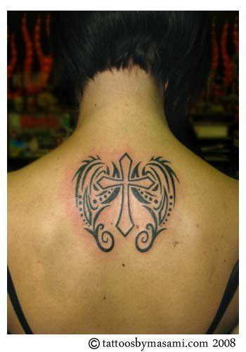 tribal girly tattoos 17 best ideas about cross with wings on