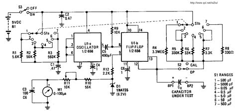 capacitor meter in circuit merakit dot rf test circuits