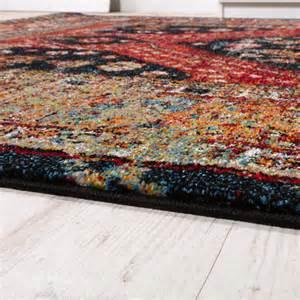 teppich orientalisch designer teppich orientalisch schwarz rot alle teppiche