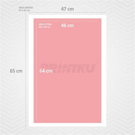 Printer Offset Murah cetak 210 47x65cm printku