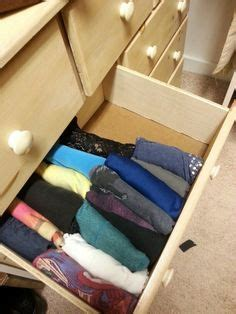 How To Fold Shirts For Drawers by 1000 Images About Konmari Method On How To