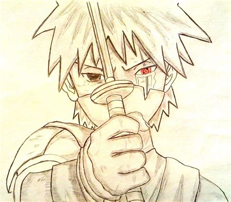 Drawing Kakashi by Kakashi Hatake By Atisorn Badboy On Deviantart
